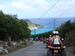 St Bart's is a small island, making ATV riding an ideal excursion