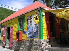 St Barts surf shop