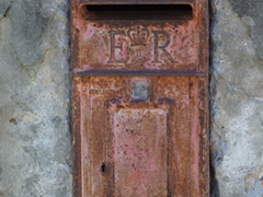 Old Post Office drop off box
