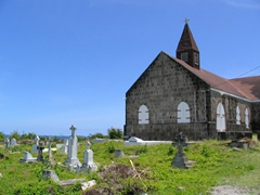We tried to visit this old Anglican Church, but unfortunately, it wasn't open for visitors