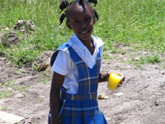 Portrait of a Nevian schoolgirl