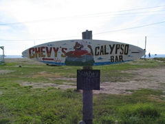 Chevy's Calypso bar competes with Sunshine's on Pinney's Beach