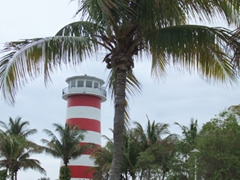 Lighthouse at Port Lucaya