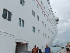 Getting back on board the Sensation; Freeport