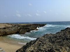 Beautiful vistas like this abound along Aruba's jagged coastline