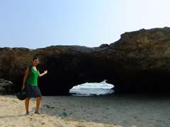One of Aruba's natural arches