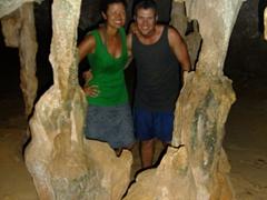 Locked up in a cave jail; Quadirikiri Cave
