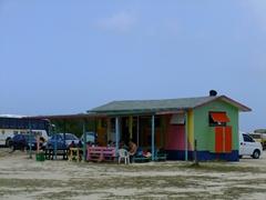 Beach shack eatery; Baby Beach