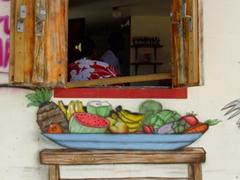 Big Moma's inviting kitchen; Baby Beach