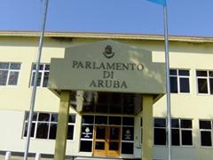 Aruba's Parliament; Oranjestad