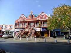 Oranjestad has numerous shopping opportunities