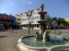 Oranjestad looks very European in some sections of town