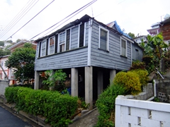 Typical dwelling in pretty Grenada