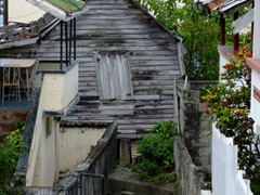In 2004, St. George was severely battered by Hurricane Ivan, which devastated 90% of the island's homes