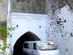 Sendall Tunnel is 340ft long, and was completed in 1894. It is named after the island's governor at that time