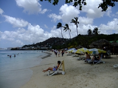 The pretty Grande Anse Beach is a popular destination in Grenada