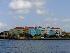 The colorful Otrobanda district of Willemstad