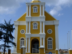 We thought this was a church initially, but quickly realized it is a government building; Punda