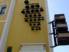 Interesting clock tower; Punda