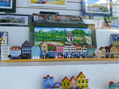Lots of Curaçao souvenirs for sale