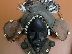 African face mask; Kura Hulanda Museum