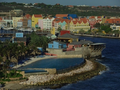 Our parting view of pretty Curaçao