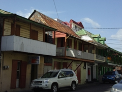 Roseau's streets have an interesting blend of architecture, with strong French and English influences