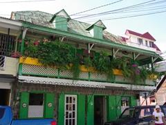 Pretty restaurant; Roseau