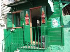 Simple shack; Roseau