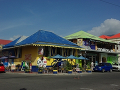 Colorful Roseau bar