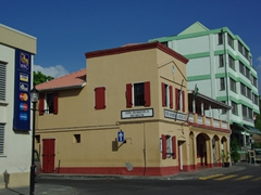 The Dominica Museum faces the bayfront, and is housed in an old market house dating from 1810