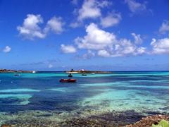 Picturesque Island Harbor