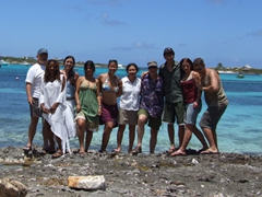 Group shot; Island Harbor
