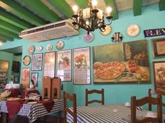 Interior of a Paella restaurant; Hotel Valencia