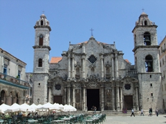 Old church at Plaza de la Cathedral; Havana Vieja