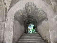 Thick archway of Iglesia y Convento de San Francisco de Asis