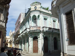 Havana's old streets are full of captivatingly beautiful buildings, some of which are unfortunately in a state of disrepair