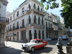 We enjoyed our stroll along the Prado, one of Havana's prettiest streets