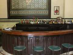 Bar area of Hotel Inglaterra