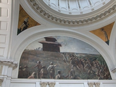 Interior painting; Museum of the Revolution