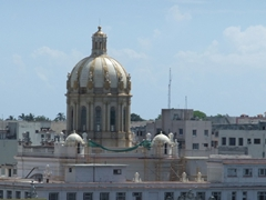 The Hotel Parque Central is a great place to take roof top photos of Havana