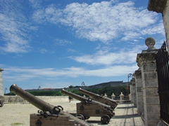 Canons at Castillo de la Real Fuerza