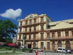 The Partagas Cigar Factory is located to the rear of the Capitol