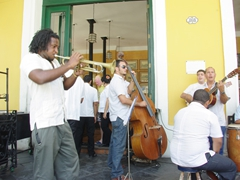 Wonderful live music at the Taverna de la Muralla; Plaza Vieja