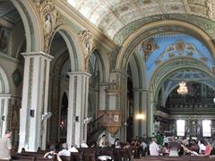 Interior of Catedral de Nuestra Senora de la Asuncion; Parque Cespedes
