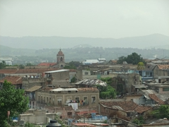 View of colonial Santiago