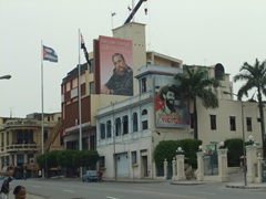 After several weeks in Cuba, we became used to seeing billboards such as these