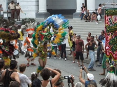 The Brazilians from Pernambuco were the crowd's favorite, as they all put on a great show