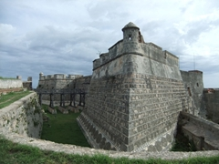 The imposing exterior of El Morro