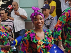 A beautiful Curacao smile; Fiesta del Fuego